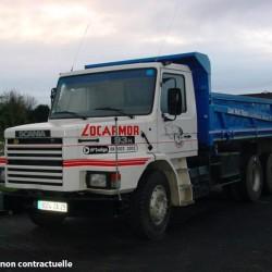 location camion benne Saint-Brieuc