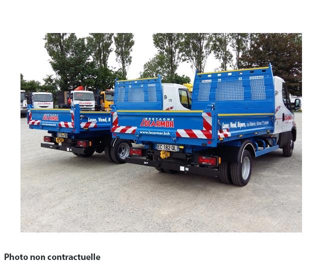 Location camion benne 3t50 en bretagne - Location de camion benne ...