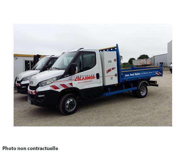 Location camion benne 3t50 en bretagne - Location benne prix ...