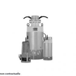 pompe électrique chantier eaux claires chargées