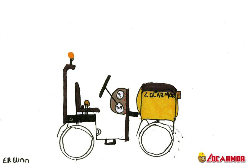 rouleau compresseur Locarmor par Erwan