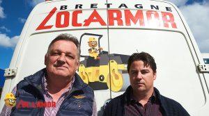 Bertrand Guézenec et Christophe L'Hour agence Locarmor de Brest