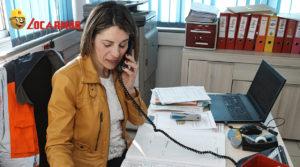 Laëticia Quemeneur, responsable des sites Locarmor de Landivisiau et Morlaix