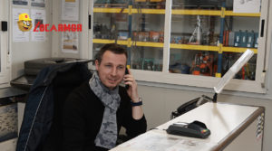 Julien, le responsable locations de l'agence Locarmor de Morlaix