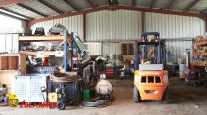 L'atelier réparations de l'agence Locarmor de Pont L'abbé