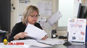 Christelle Bargain, Responsable Secteur des agences Locarmor Quimper Nord et Pont L'Abbé