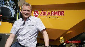 Denis VARIN responsable de l'ensemble du service technique Matériels chez LOCARMOR