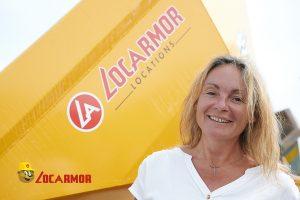 Hélène Philippe responsable de l'agence Locarmor de Lorient