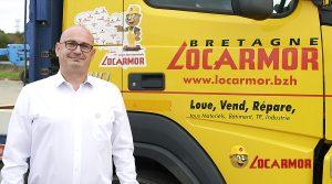 Stéphane Courtin responsable des secteurs de Vannes et d'Auray chez Locarmor