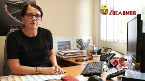 Sylvie Cravec responsable du site de Lannion