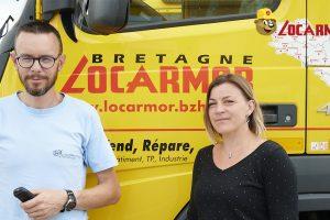 Géraldine Normant et Jérôme Normant Locarmor Quimper Sud